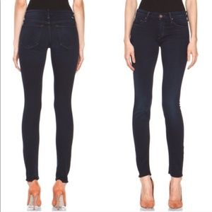 MOTHER The Looker Skinny Jeans in Midnight Size 26